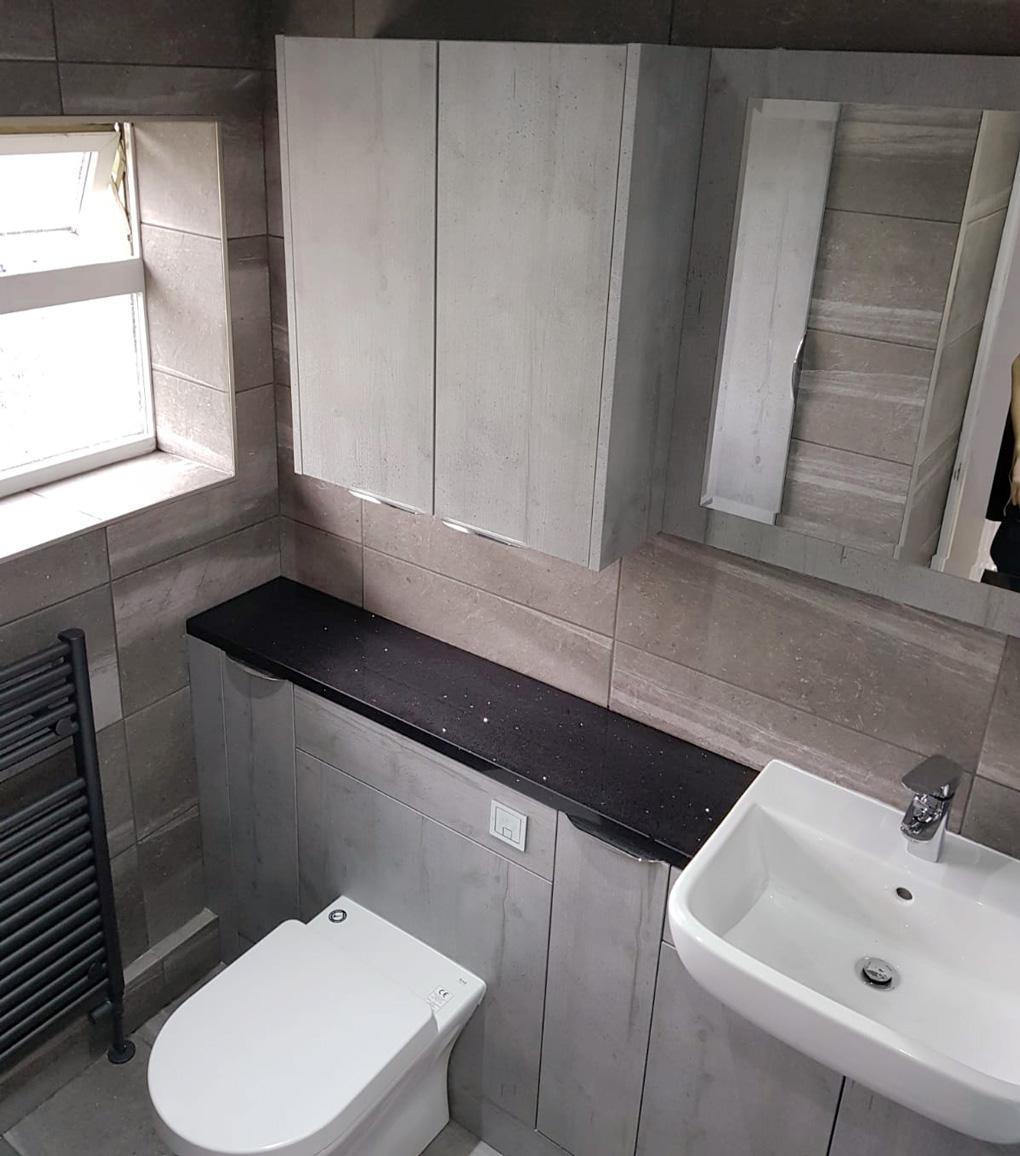 Boston Concrete furniture Bathroom - Bathroom Designs - Tecaz