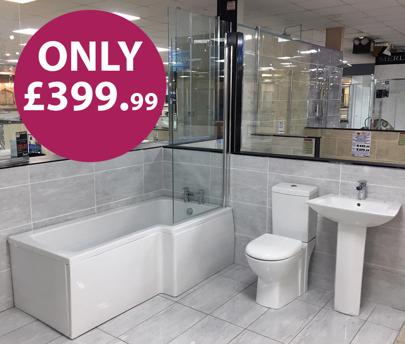 Free bootle of prosecco when purchasing Roper Rhodes vanity units