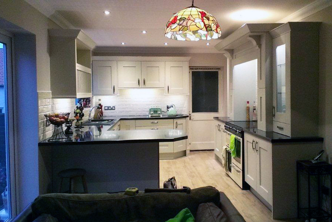 Prima Olympus Gloss Laminate Kitchen Worktop photo - 3