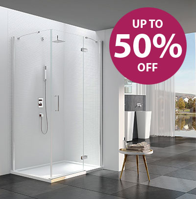 Complete Shower Package Includes: Dual Head Thermostatic Shower Set, Units, Toilet, Basin, Tap, Cubicle, Shower Tray & Bathroom Panelling. (Panelling in a choice of colours)