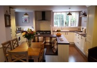 Connoisseur Milbourne Alabaster & Thermo Pine Laminate Worktops