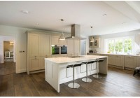 Connoisseur Milbourne Stone with White Quartz Worktop