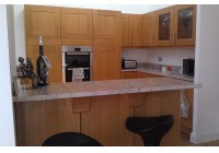 Signature Broadoak Natural With Kasmir White Granite Worktops
