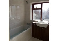 Gems Noce Walnut Fitted Furniture with Quantum Bath
