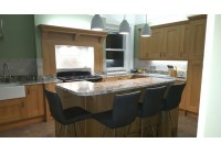 Connoisseur Lyndon with Blue Nile Granite Worktops