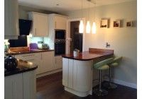 Signature Broadoak Alabaster & Solid Walnut Worktops