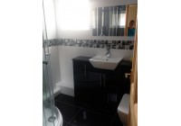 Gems Black Gloss Furniture and Shower Suite