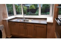 Signature Wilton Odessa Oak with Sahara Brown Worktop